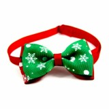 5 PCS Christmas Holiday Pet Cat Dog Collar Bow Tie Adjustable Neck Strap Cat Dog Grooming Accessories Pet Product (9)