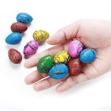 6 PCS Small Size Hatching Dinosaur Eggs (Random Color)