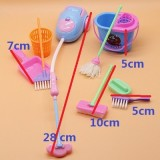 Furniture Toys Miniature House Cleaning Tool Doll House Accessories for Doll House Pretend Play Toy 9 PCS / Set