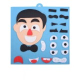 DIY Emotion Puzzle Toys Creative Non-woven Facial Expression Stickers Kids Educational Learning Toys (Dad)