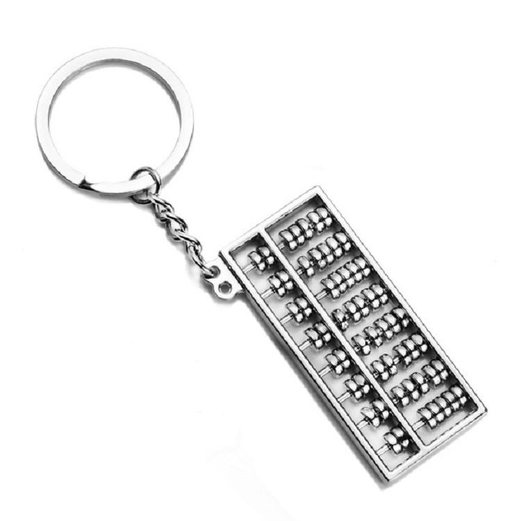 Creative Abacus Key Ring Pendant Creative Abacus Keychain