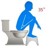 Squatty Step Stool Bathroom Potty Squat Toilet Assistant Footseat Toilet Stool Foot Stool