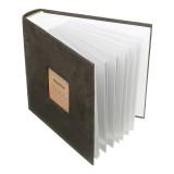N55078 7 inch 50 Pages for 200 PCS Photos Velvet Face Album Insert Type Album Storage Book (Green)
