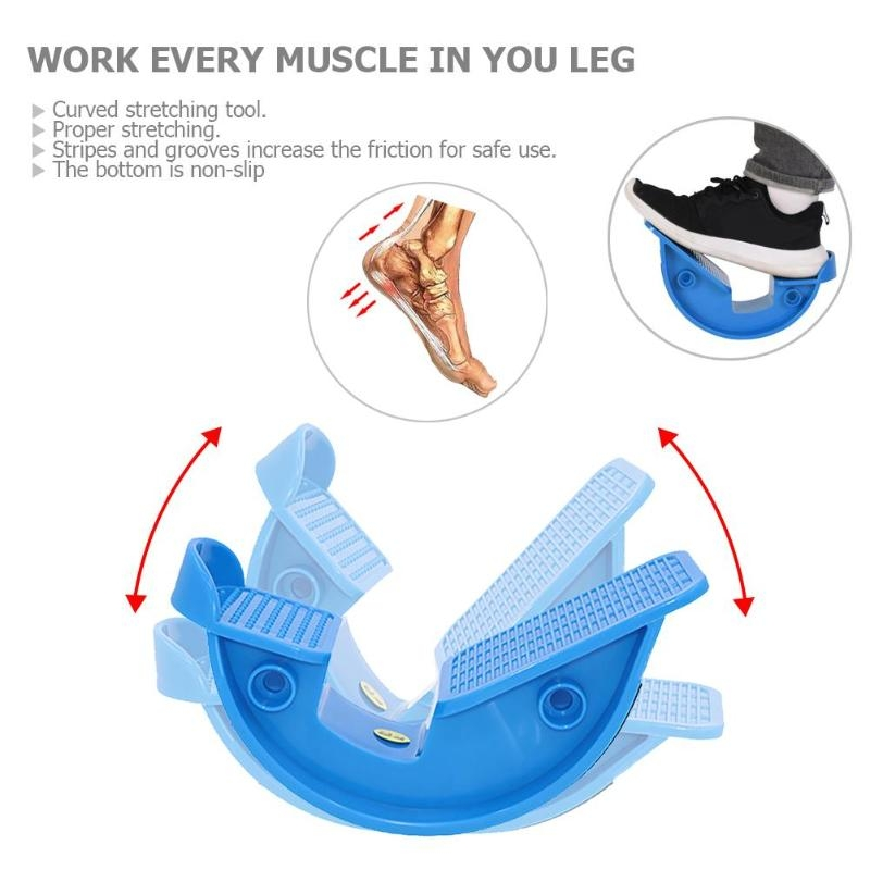 Calf Ankle Stretcher Sports Massage Pedal (Black)