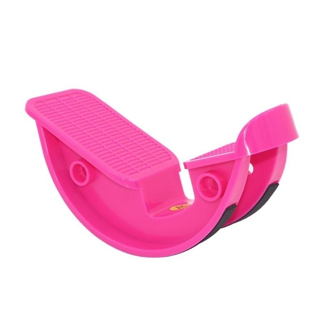 Calf Ankle Stretcher Sports Massage Pedal (Rose Red)