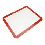 Platinum Glass Fiber Silicone Pastry Cake Cookie Baking Mat Pad Sheet Kneading Mat, Size: 40x30cm