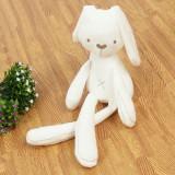3 PCS Cute Rabbit Soft Plush Toys (Beige soothing rabbit)