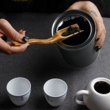 2 PCS Bamboo Tea Coffee Spoon Teaspoon Scoop Chinese Kung Fu Tool