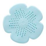 2 PCS Flower Shape Bathroom Floor Drain Hair Stopper Filter Sink Strainer (Green)