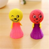 5 PCS Jumping Doll Kids Bounce Ball Toys Creative Game Toys Gifts for Children, Random Style Delivery (6.5x3cm)