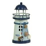 2 PCS Mediterranean Style Round Hole tin Lighthouse Candlestick Home Desktop Decoration Wrought Iron Candlestick (Bird)