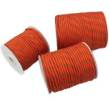 4MM Diameter Reflective String Windproof Tent Rope Guy Line For Camping Rope, Color: 50meters