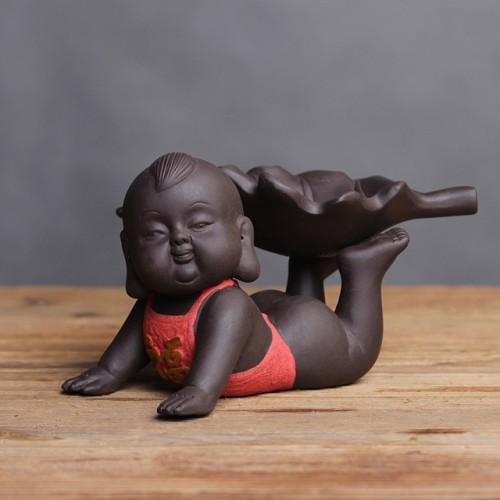 Creative Purple Sand Tea Leak Tea Strainer Tea Ceremony Accessories (PJ180730-3)