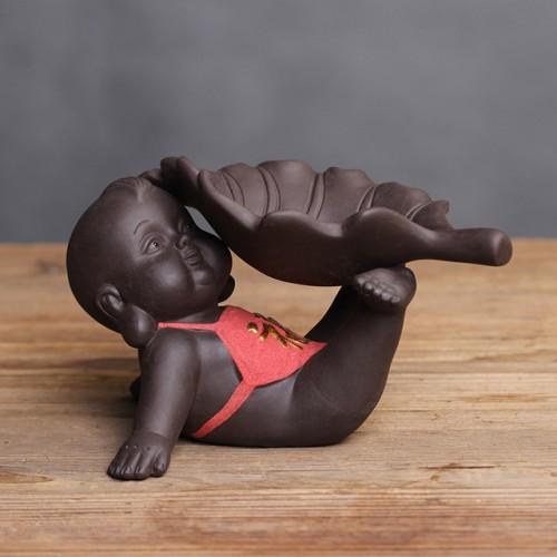 Creative Purple Sand Tea Leak Tea Strainer Tea Ceremony Accessories (PJ180730-4)