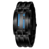 SKMEI Multifunctional Male Outdoor Fashion Noctilucent Waterproof LED Digital Watch (Black)