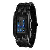 SKMEI Multifunctional Female Outdoor Fashion Noctilucent Waterproof LED Digital Watch (Black)
