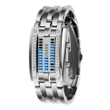 SKMEI Multifunctional Female Outdoor Fashion Noctilucent Waterproof LED Digital Watch (White)