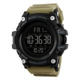SKMEI 1384 Multifunctional Men Outdoor Fashion Noctilucent Waterproof LED Digital Watch (Khaki)