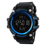 SKMEI 1384 Multifunctional Men Outdoor Fashion Noctilucent Waterproof LED Digital Watch (Blue)