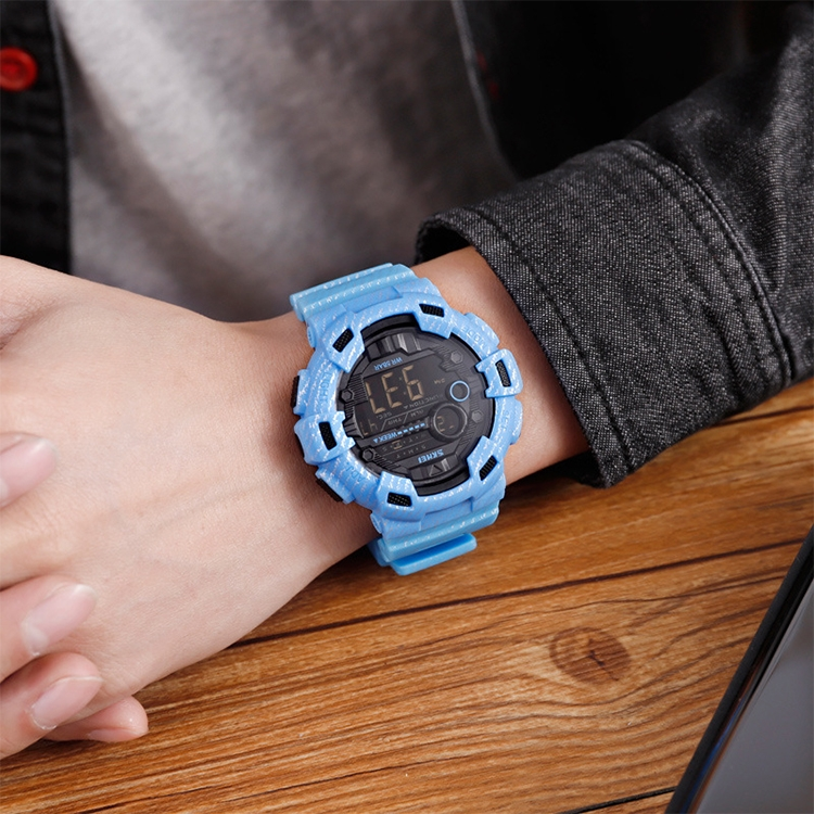 SKMEI 1472 Multifunctional Men Outdoor Sports Noctilucent Waterproof Didital Wrist Watch (Army Green)