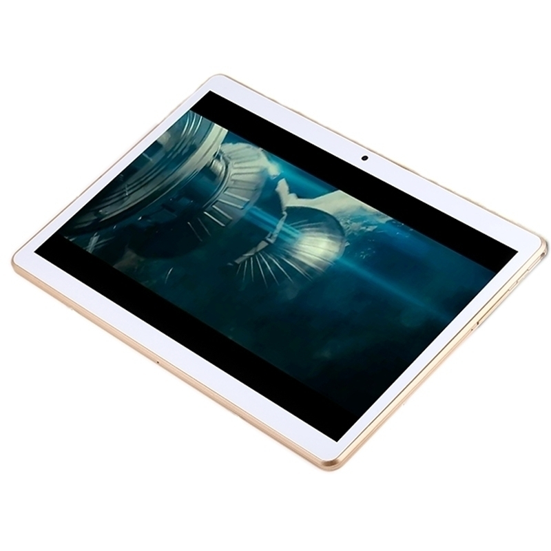 3G Phone Call Tablet PC, 10.1 inch, 1GB+16GB, Android 5.1 MTK6580 Quad-core up to 1.3GHz, WiFi, Bluetooth, OTG, GPS (Gold)