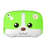 A718 Kids Education Tablet PC, 7.0 inch, 1GB+8GB, Android 6.0 Allwinner A33 Quad Core 1.3GHz, Support WiFi / TF Card / G-sensor, with Dog Pattern Silicone Case (Green)