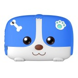 A718 Kids Education Tablet PC, 7.0 inch, 1GB+8GB, Android 6.0 Allwinner A33 Quad Core 1.3GHz, Support WiFi / TF Card / G-sensor, with Dog Pattern Silicone Case (Blue)