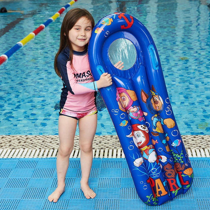 Children Inflatable Surfing Board Floating Play Floating bed, Size: 114x60cm