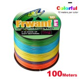 PE Braid Line 500M 16 Strands Braided Fishing Line Multicolor Super Power