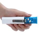 3 Compartment Travel Portable Sealed Pill Box Mini Storage Box With Elastic Clip Pill Case