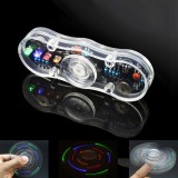 3pcs DIY Electronic POV Rotate Fingertip Gyro Soldering Kit Colorful LED Electronic Training Part