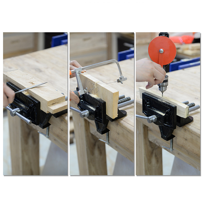 Mytec Universal Heavy Table Vise Woodworking Bench Vise Desktop Vise Jewelers Vice Clamp On Bench Vise Hand Tool Alexnld Com