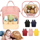 Waterproof Mummy Backpack Outdoor Nappy Diaper Bag Travel Baby Nursing Bag Handbag