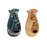 Mountain River Handicraft Incense Holder Ceramic Backflow Waterfall Smoke Incense Burner Censer Holder