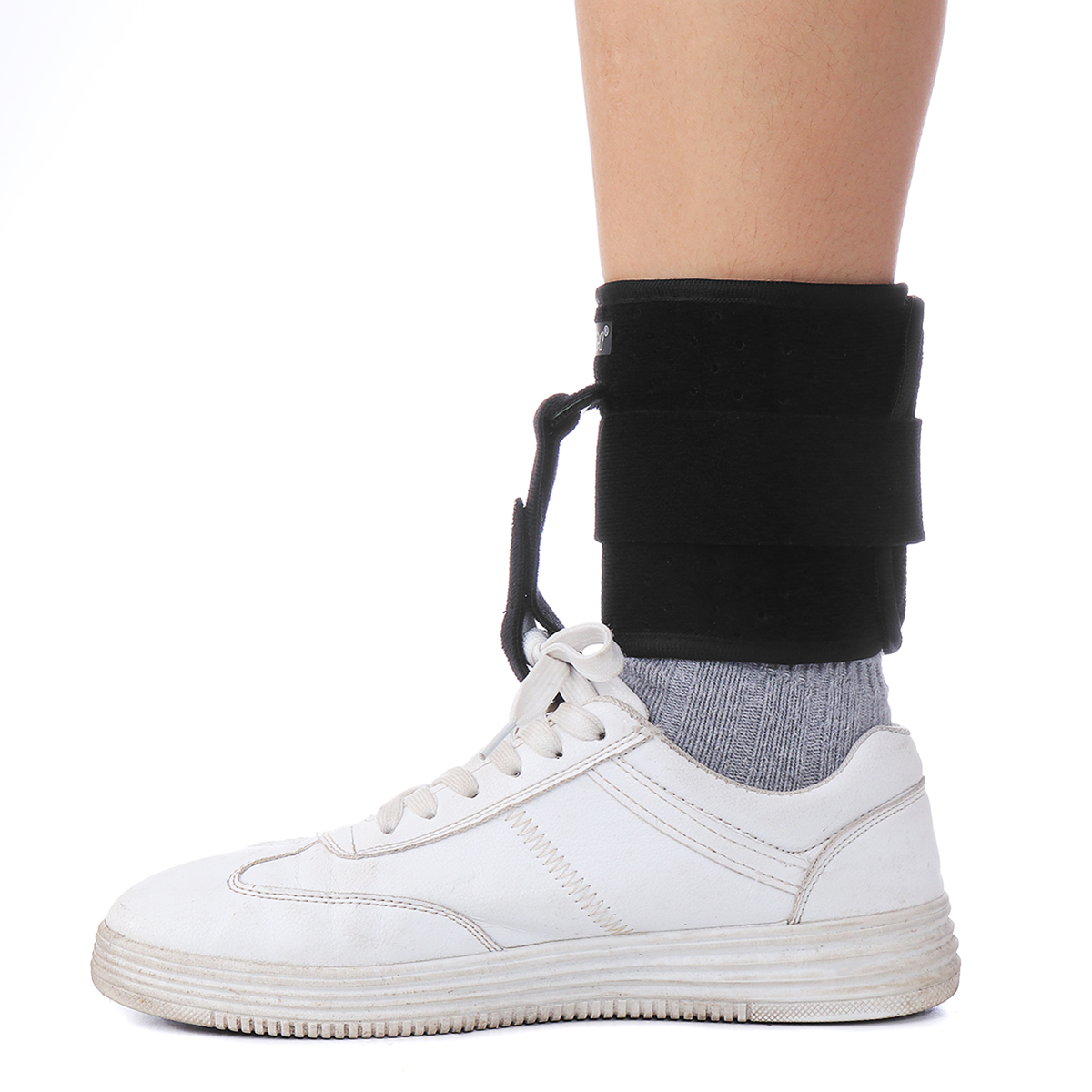Adjustable Drop Foot Support Ankle Orthosis Corrector Brace Protector Guard Strap Stabilizer