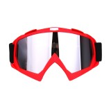 Skiing Goggles Snowboard Ski Eyewear Anti-UV Glasses For Motorcycle Motocross Sliver Lens