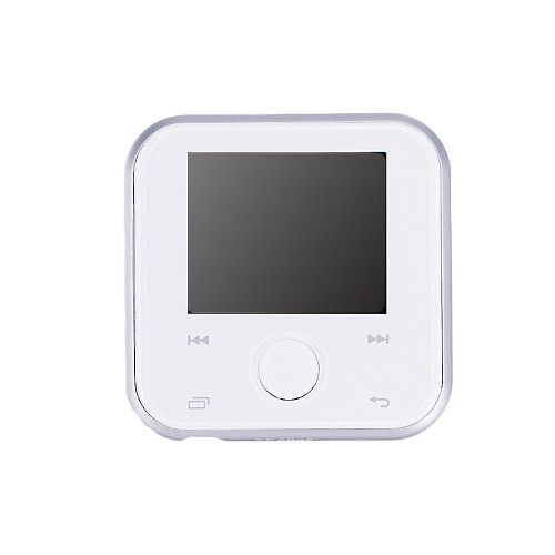 HBNKH H-R320 bluetooth Lossless HD MP3 Player Built-in Speaker FM Radio Audio Video Music Player White