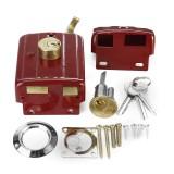 Heavy Duty Lock Security Door Lock Dead Bolt Lock with 3 Keys for Front Door