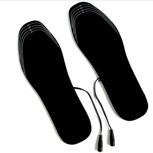 USB Electric Heated Insoles Women Men Heating Shoe Insole Winter Warm Insoles For Shoes Boots Heater Warm Foot Pads Insert