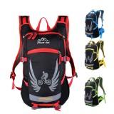 18L Motorcycle Backpack Bike Waterproof Nylon Riding Hiking Helmet Shoulder Bag