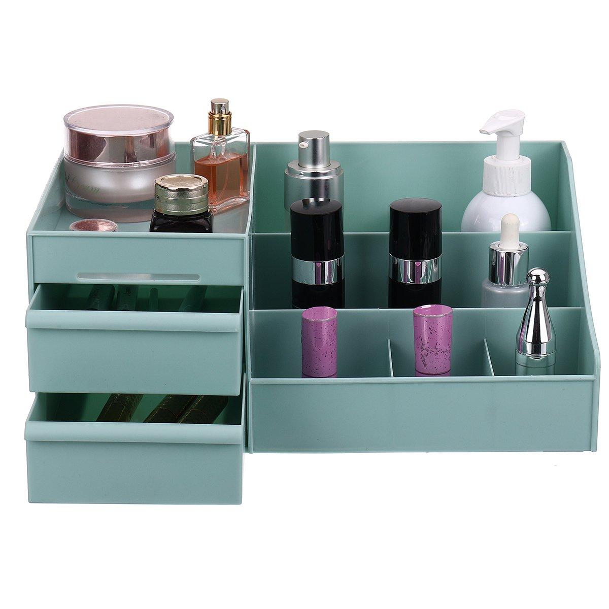 Desktop Cosmetic Storage Box Case Makeup Sundries Organizer Jewelry Display Box Container