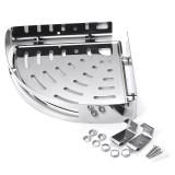 Kitchen/Bathroom Stainless Steel Triangular Rack Shower Caddy Storage Holder Shelf