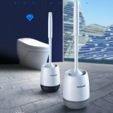 Silicone Toilet Brushes Bathroom Cleaning Set Wall Mounted Floor Standing Toilet Bowl Brush