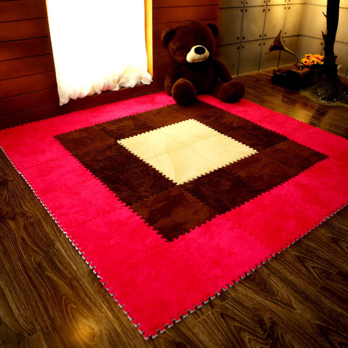Meddler 31cm Baby Crawling Puzzle EVA Foam Soft Mat Kids Play Carpet Home Floor 10 Pieces EDGES