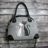 Women Crossbody Bag Cat Pattern Handbag Crossbody Bag Shoulder Bag