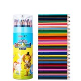 Deli 7074 48 Colors Colored Pencils Wood Artist Painting Oil Color Pencil For School Drawing Sketch Art Supplies