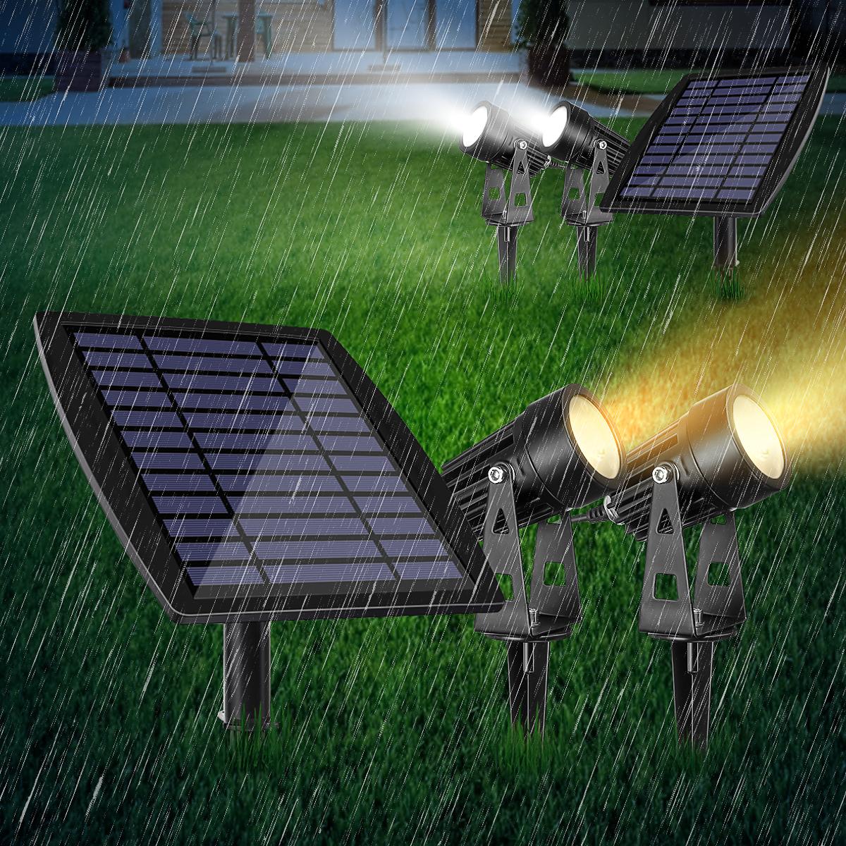 Amazon Com Solar Powered Flood Lights Outdoor