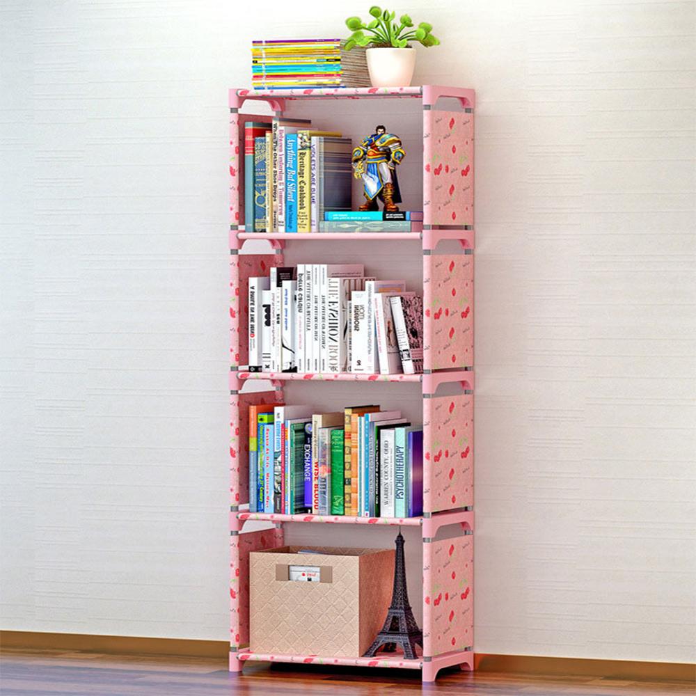 DIY Child Bookcase Stand Shelf Bookshelf Cube Shelf Storage Shelf File Shelf Creative Combination Layer Shelf