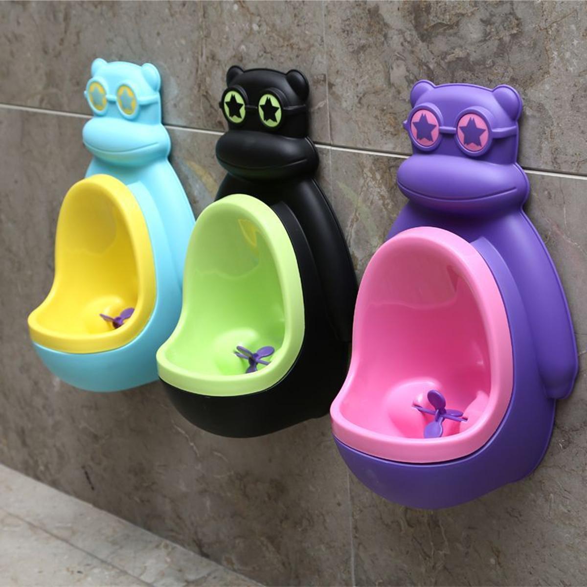 Baby Boys Potty Toilet Kids Toddler Urinal Bathroom Hanging Pee Trainer