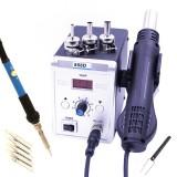 858D 700W Hot Air BGA Rework Soldering Station Electric Soldering Iron 220V / 110V for SMD SMT Welding Repair